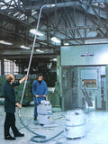 Nilfisk 38mm Aluminium 1m Wand For Overhead Vacuum Cleaning In Processing Plants - TVD The Vacuum Doctor