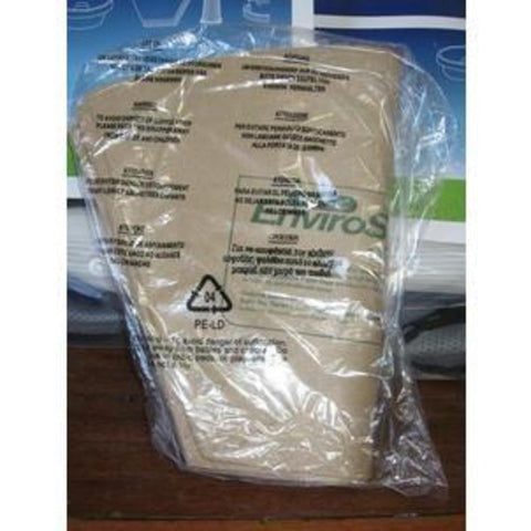 Pacvac EnviroSafe Backpack Vacuum Cleaner Paper Dustbags See PACVACDUB019 - TVD The Vacuum Doctor
