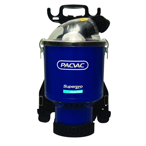 PACVAC Superpro 700 Duo BACKPACK Vacuum Cleaner For Where Spillage May Occur - The Vacuum Doctor