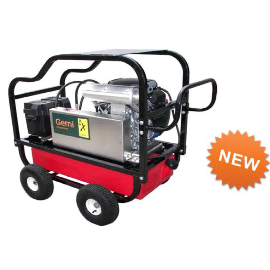 GERNI MC 5M 250/1300 PE PLUS Petrol Powered Cold Water Pressure Washer - TVD The Vacuum Doctor