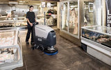 Nilfisk SC500 Battery Operated Walk Behind Automatic Floor Scrubber Drier - TVD The Vacuum Doctor