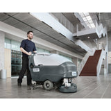 Nilfisk SC750 Scrubber Drier Complete With Prolene Brush This Page For Info Only - TVD The Vacuum Doctor