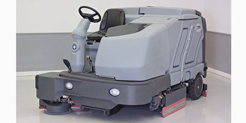 Nilfisk Sc8000 Lpg Rider Scrubber Drier With Cylindrical