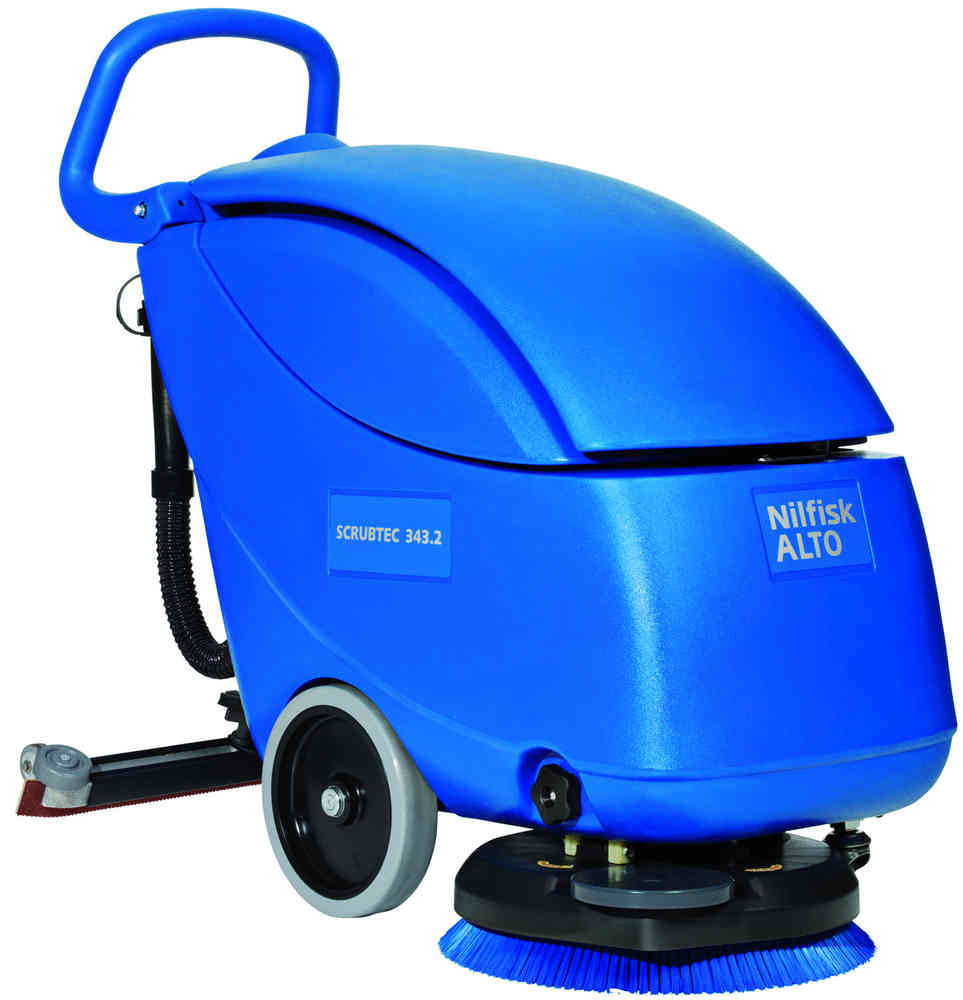 Nilfisk-ALTO Scrubtec 343.2 Battery Operated Auto Floor Scrubber Drier NLA - TVD The Vacuum Doctor