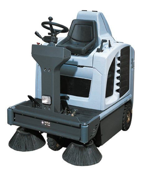Nilfisk-Advance SR1300H Battery Rider Sweeper REPLACED BY SW4000 - TVD The Vacuum Doctor