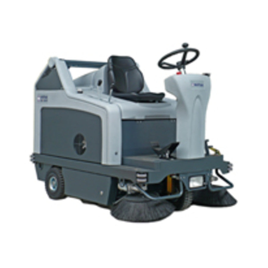 Nilfisk-Advance SR1301 Battery Powered Rider Sweeper - TVD The Vacuum Doctor