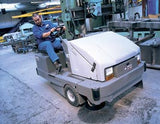 Nilfisk-Advance SR1800 Rider Sweeper Now REPLACED BY Nilfisk SW8000 - TVD The Vacuum Doctor