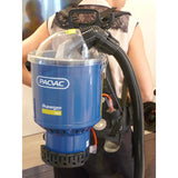 PACVAC Backpack Vacuum Cleaner Hose Complete With Bent Tube - TVD The Vacuum Doctor