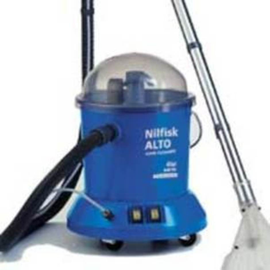 Nilfisk-Alto and WAP TW300S Carpet Extraction Machine INFO ONLY - TVD The Vacuum Doctor