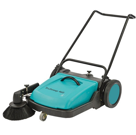 TruSweep 460 Robust Reliable Push Sweeper With 600mm Cleaning Path - TVD The Vacuum Doctor