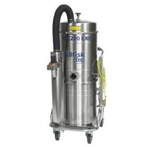 NilfiskCFM VHC200 L50 Z1 ATEX Approved Compressed Air Vacuum Cleaner - TVD The Vacuum Doctor