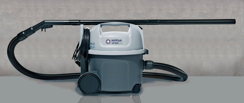 Nilfisk VP300 ECO Commercial Vacuum Cleaner 900 Watts - TVD The Vacuum Doctor