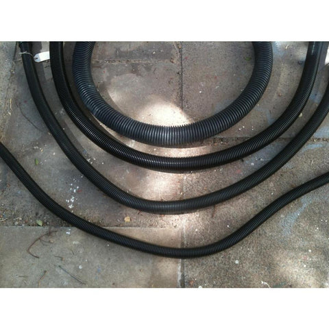 32mm Black Hose Per Metre Length for Ducted Vacuum Systems