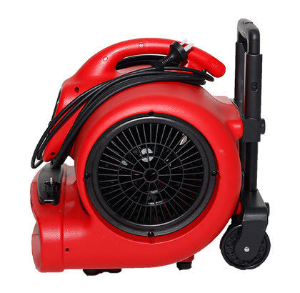 XPower 520W Prof Air Mover With Wheels And Built-In Trolley FREE DELIVERY! - TVD The Vacuum Doctor