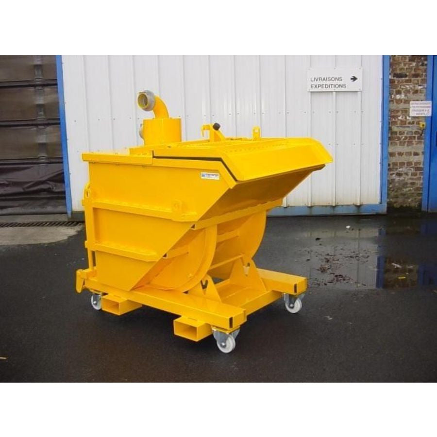NilfiskCFM 400 and 800 Litre Dumping Hoppers and Separators Page For Info Only - TVD The Vacuum Doctor