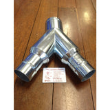 NilfiskCFM 100mm x 50mm x 50mm Bifurcation Reduction Y Joint For 2 x 50mm Hoses