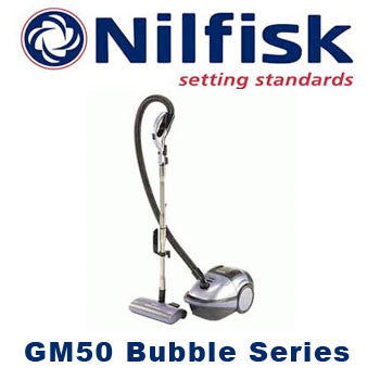 Nilfisk GM50 Bubbles Compact Household Vacuum Cleaner INFORMATION ONLY - TVD The Vacuum Doctor