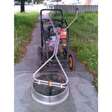"Kerrick Stainless Steel Whirlaway 600mm 24"" Diameter Surface Cleaner For Pressure Cleaning Expansive Area"