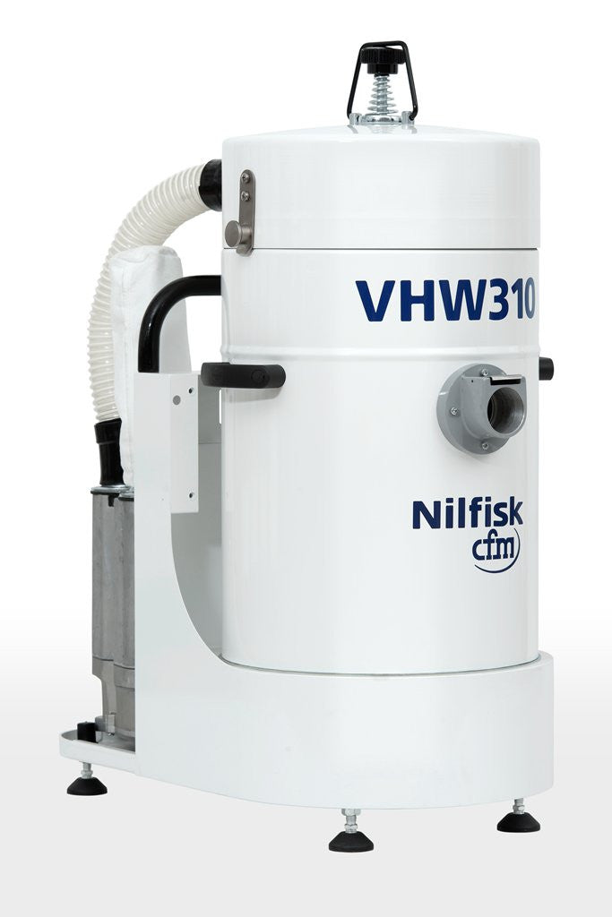 NilfiskCFM VHW 310 White Line Vacuum Cleaner Unit With 3 Phase Induction Motor - TVD The Vacuum Doctor