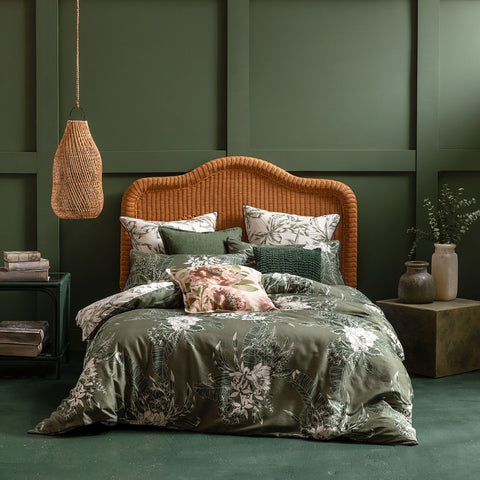 Ivy Green Quilt Cover Set