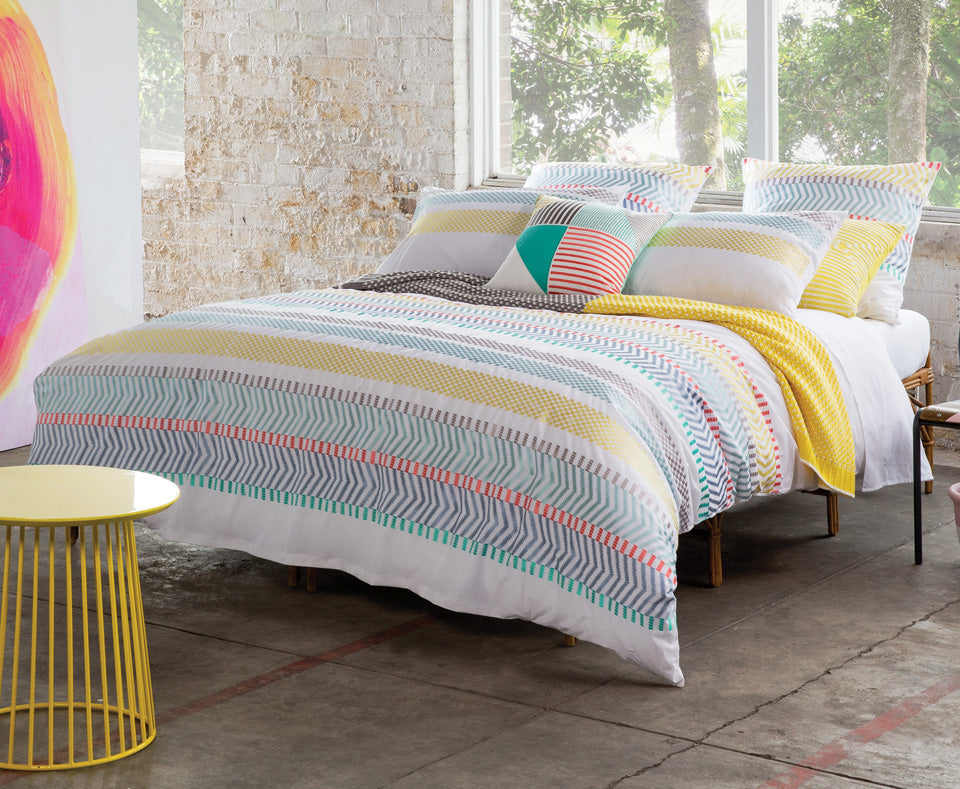 TAYLOR  QUILT COVER SET