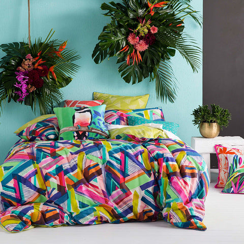ALPHA MULTI QUILT COVER SET