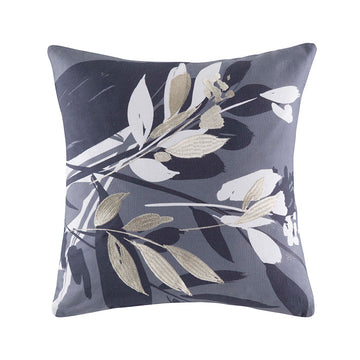 ALEENA GREY SQUARE CUSHION