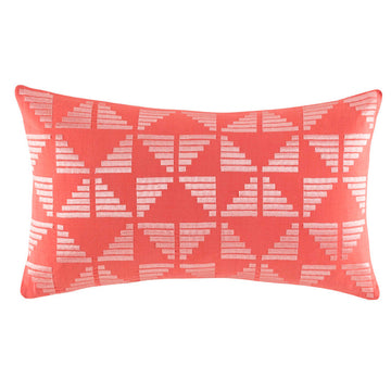 KYLE CORAL RECTANGLE CUSHION