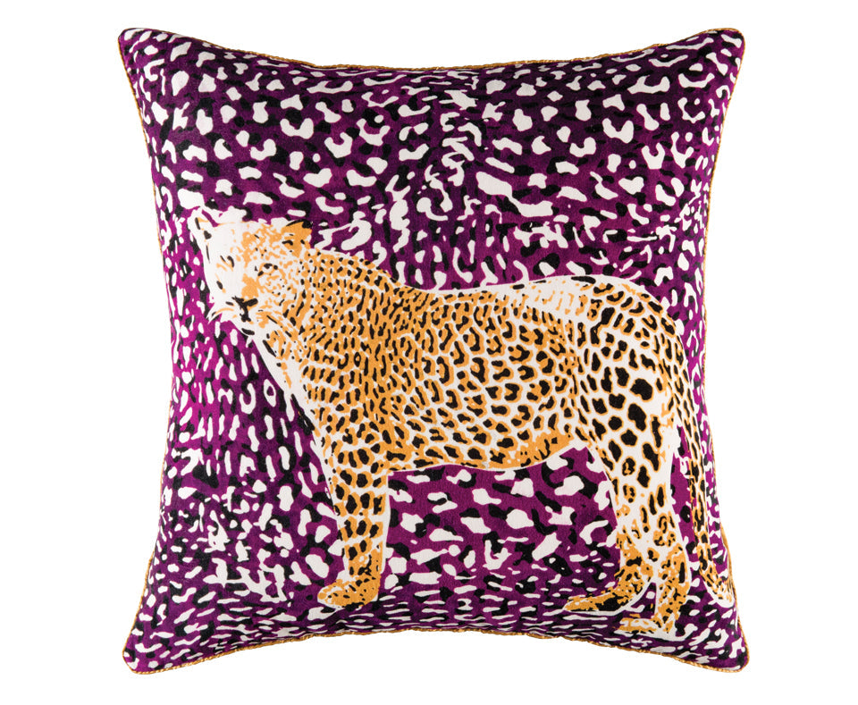 CHEETAH CUSHION