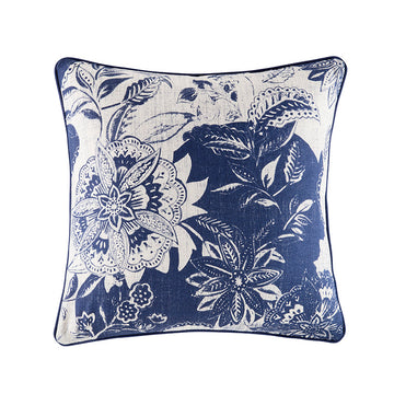 FREYA BLUE SQUARE CUSHION