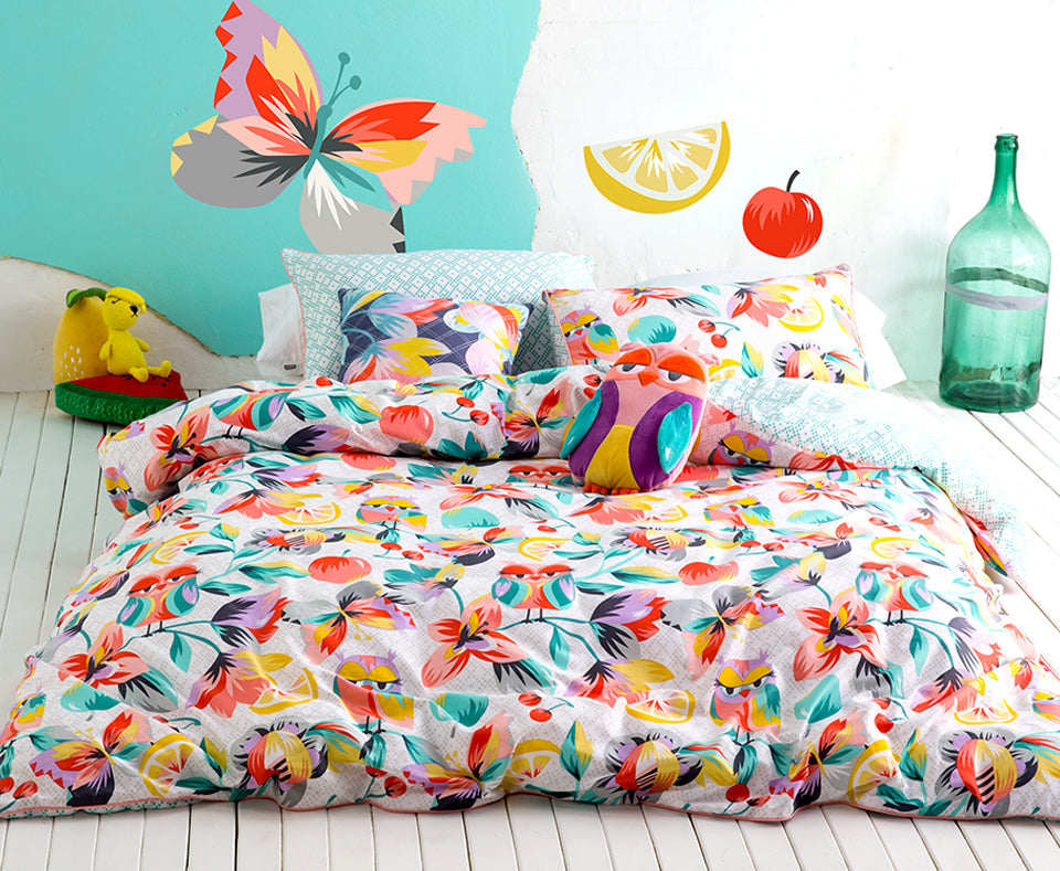 KALEIDOSCOPE QUILT COVER SET