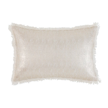 BLINGO GOLD RECTANGLE CUSHION