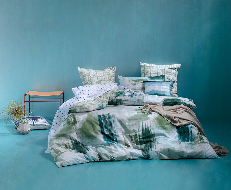 BODHI GREEN QUILT COVER SET