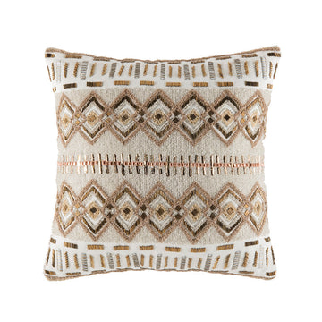 AMARA GOLD SQUARE CUSHION