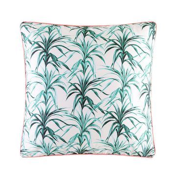 ARABELLA GREEN EUROPEAN PILLOWCASE