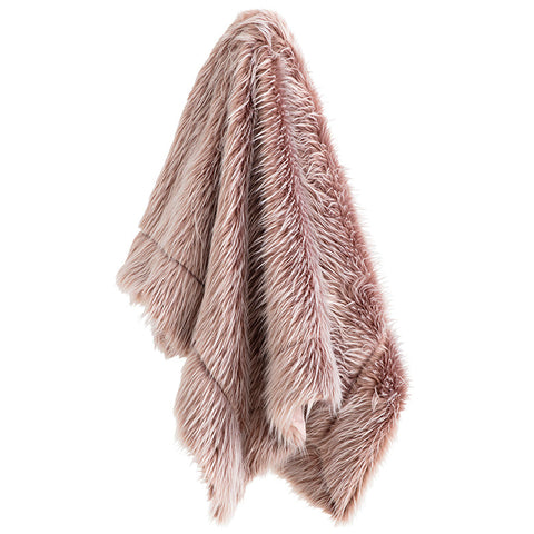 ASPEN BLUSH THROW
