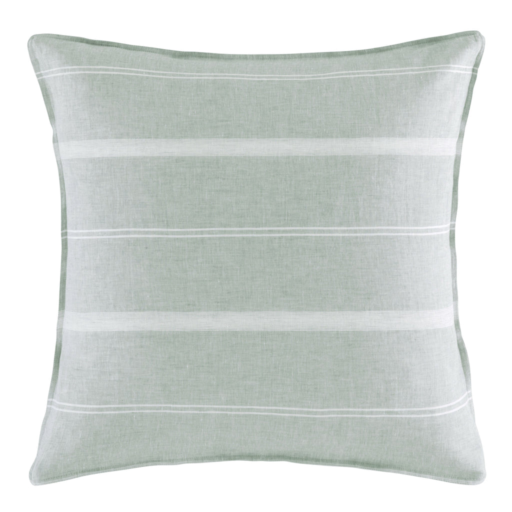 BALMORAL SAGE EURO SQUARE PILLOWCASE
