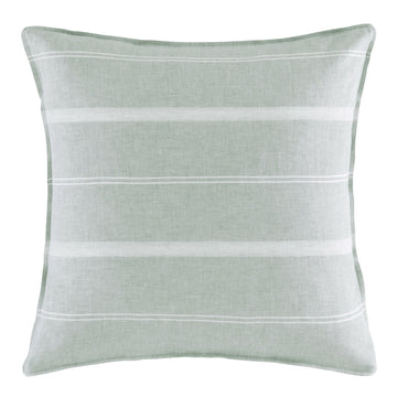 BALMORAL SAGE EUROPEAN SQUARE PILLOWCASE