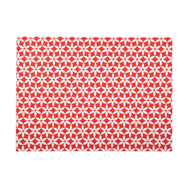 DAISY RED PLACEMAT