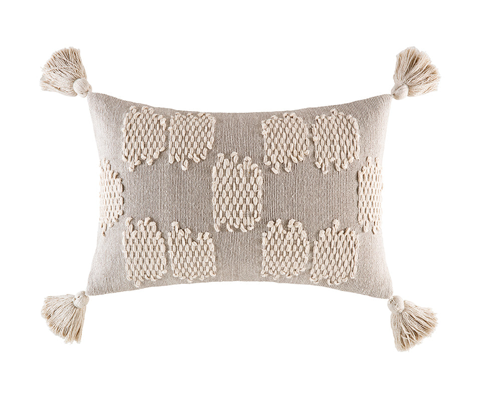 EDIE NATURAL RECTANGLE CUSHION