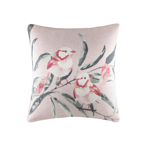 Fairy Wren Square Cushion