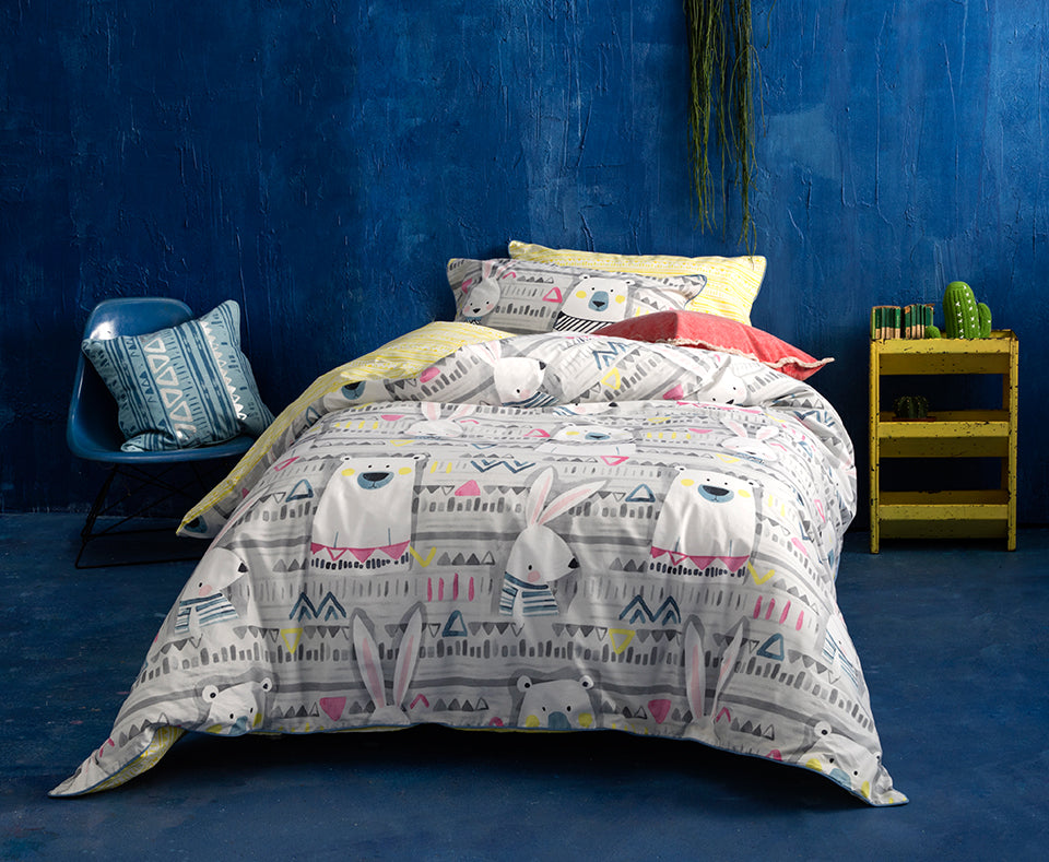 FRANKIE & GINGER QUILT COVER SET
