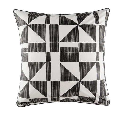 GEOMETRY EURO PILLOWCASE