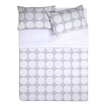 HARLEY WHITE QUILT COVER SET