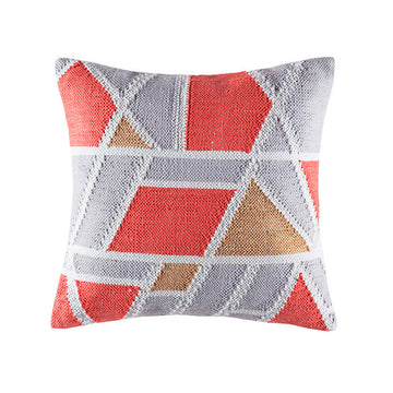 LITMUS RED SQUARE CUSHION