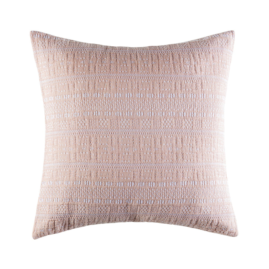LYRIC BLUSH EURO PILLOWCASE