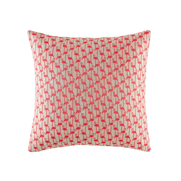 Mini Flamingo Cushion