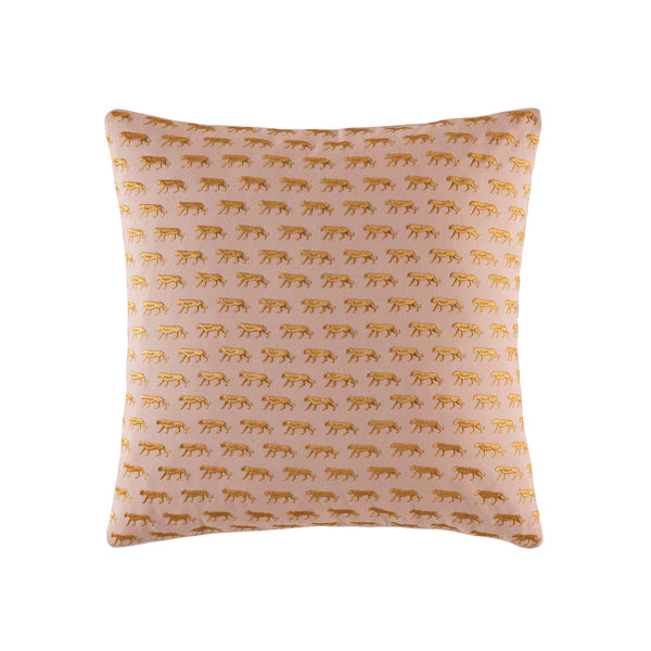 Mini Tiger Square Cushion