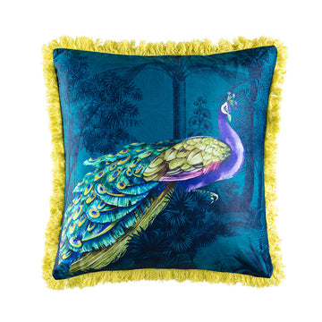 PEACOCK MULTI SQUARE CUSHION