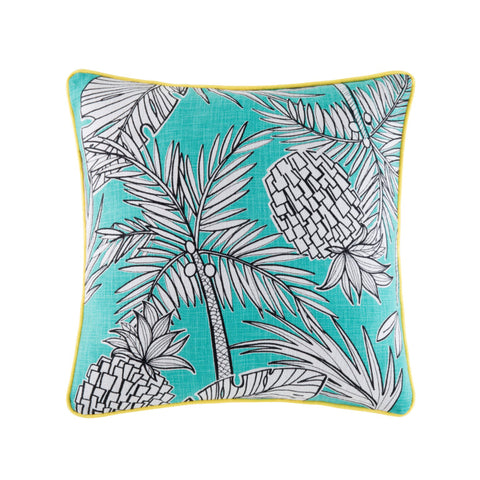 PINEAPPLE PALM CUSHION COVER
